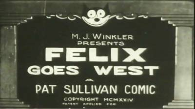 Felix The Cat - Goes West