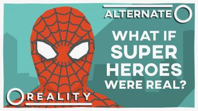 What If Superheroes Were Real? | Alternate Reality