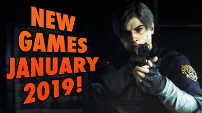 6 Upcoming Games For January 2019!