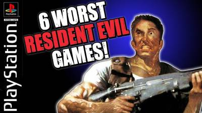 6 Worst Resident Evil Games Ever Made!