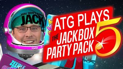ATG Plays Jackbox Party 5 | Xmas Special!