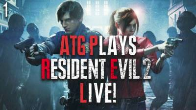 POLICE STATION DONE | Resident Evil 2 RemakeFirst Hour Gameplay LIVE