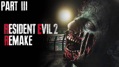 RESIDENT EVIL 2 REMAKE Leon's Story Walkthrough Gameplay Part 3 | Taking On The Croc