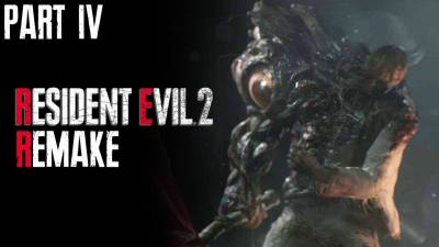 RESIDENT EVIL 2 REMAKE Leon's Story Walkthrough Gameplay Part 4 | The End Of Mr. X