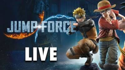 JUMP FORCE LIVE | Can Milo Teach Stef How To Play Jump Force