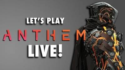 ANTHEM Walkthrough Gameplay | Is This Like Warframe or Destiny 2 | LIVESTREAM