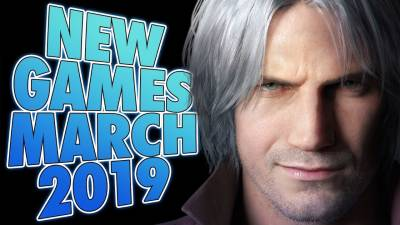 6 Upcoming Games For March 2019