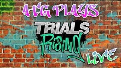 TRIALS RISING Multiplayer Gameplay | This Will End In Tears | LIVESTREAM