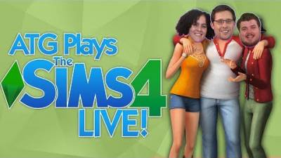 The Sims 4 Livestream | Making The ATG Family!