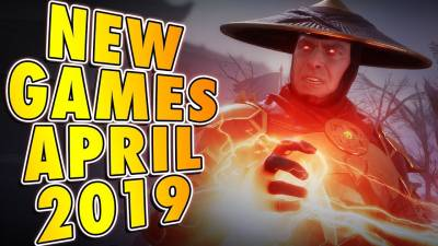 6 Upcoming Games For April 2019