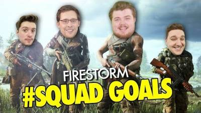 Battlefield V Firestorm Gameplay Livestream | ATG Squads Up To Get That Win!
