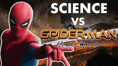 The Real Science of Spiderman: Homecoming || Movie Science