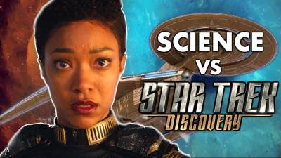 How Star Trek Discovery Gets Real Science Wrong || Movie Science