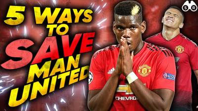 5 Ways To Save Manchester United's Season! | Scout Report