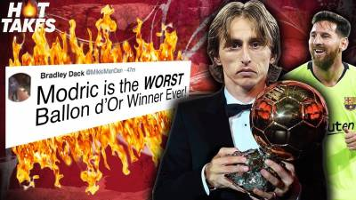 Luka Modric Is The WORST Ballon d