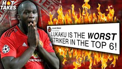 Lukaku Is The WORST Top 6 Striker In The Premier League