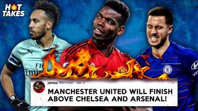 Manchester United Will Finish Above Arsenal & Chelsea