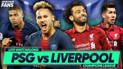 PSG 2-1 Liverpool | Neymar Scores To Down Reds!| #ArmchairFans