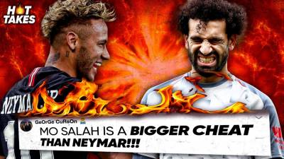 Mohamed Salah Is A Bigger CHEAT Than Neymar