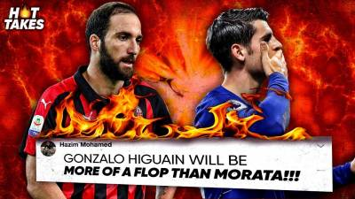 Gonzalo Higuain Will Be A Bigger FLOP Than Morata At Chelsea