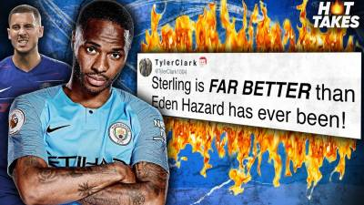 Raheem Sterling Is BETTER Than Eden Hazard