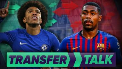 Chelsea To Swap Willian For Barcelona's Malcom?!| Transfer Talk