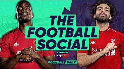 LIVE: Manchester United 0-0 Liverpool | Title Advantage to Manchester City? | #TheFootballSocial
