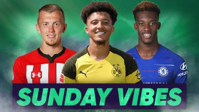 Are England's New Generation The Most WANTED Players In The World?! | #SundayVibes