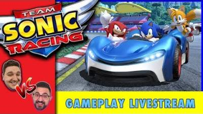 Team Sonic Racing Gameplay Live | Sonic the Hedgehog Racing Showdown