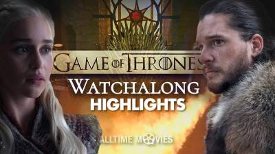 Game of Thrones Season 8 Finale - Watchalong Highlights