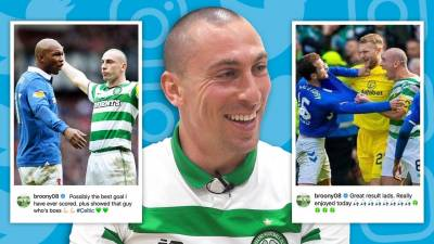 SCOTT BROWN REACTS TO TROLLING RANGERS FANS! | #UNFILTERED