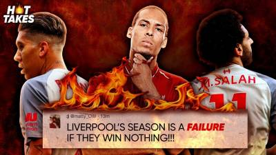 Liverpool's Season Is A FAILURE If They Win Nothing"
