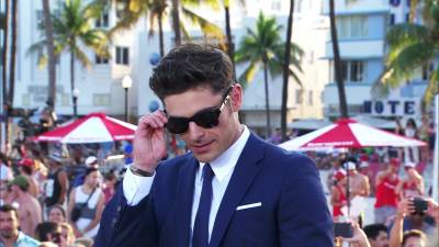 Zac Efron never wants to be in